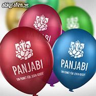Luftballons bedrucken mit Abimotto
