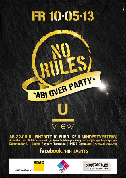 abi over party (Dortmund / View)