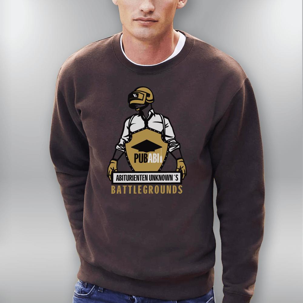 Klassischer Pullover bedrucken / Sweatshirt Unisex (Digitaldirektdruck)