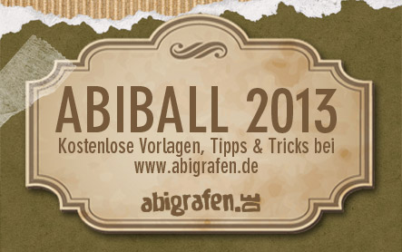 Abiball 2013 - Doppeljahrgang = zwei Feiern?