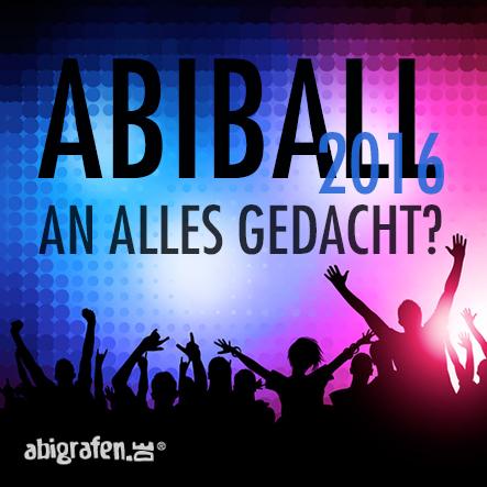 Abiball 2016 - An alles gedacht?