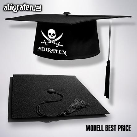 Doktorhut/Abschlusshut (best Price) mit Abi Motto bedruckt für den Abiball