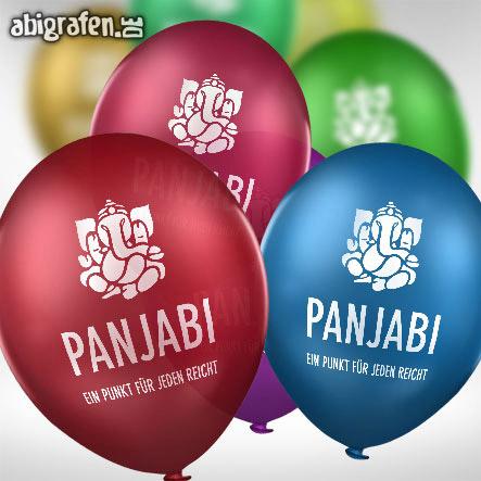 mit Abi Motto bedruckte Luftballons für den Abiball (standard)
