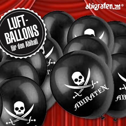 Abiball Organisation: Dekoidee Luftballons mit Abimotto