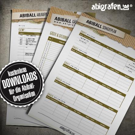 Abiball Organisation: kostenlose Downloads & Vorlagen