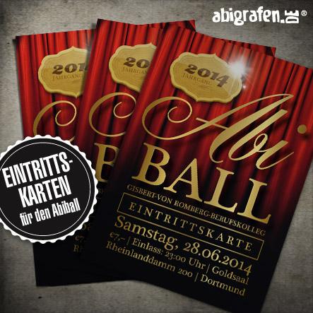 Abiball Organisation: Gezielter Vorverkauf durch Eintrittskarten
