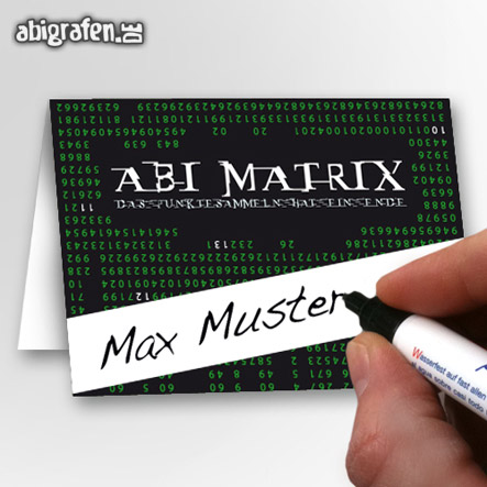 abigrafen.de - Tischkarten Abiball / Namensschilder Abiball
