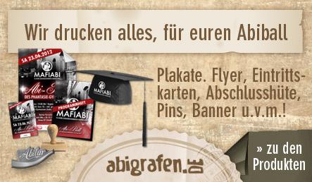 abigrafen.de - alle Drucksachen für euren Abiball in der Übersicht