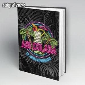 ABIcolada Abi Motto / Abibuch Cover Entwurf von abigrafen.de®