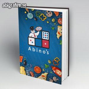 Abino's Abi Motto / Abibuch Cover Entwurf von abigrafen.de®