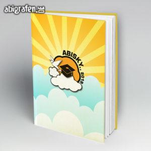 ABIsky Abi Motto / Abibuch Cover Entwurf von abigrafen.de®