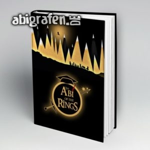 The Abi of the Rings Abi Motto / Abibuch Cover Entwurf von abigrafen.de®