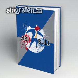 Abi Bull Abi Motto / Abibuch Cover Entwurf von abigrafen.de®