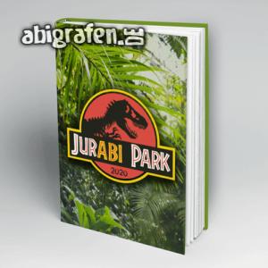 JurABI Park Abi Motto / Abibuch Cover Entwurf von abigrafen.de®