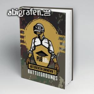 PUBAbi Abi Motto / Abibuch Cover Entwurf von abigrafen.de®