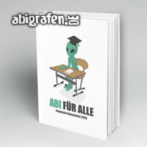 Abi für alle Abi Motto / Abibuch Cover Entwurf von abigrafen.de®