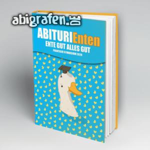 ABIturiEnten Abi Motto / Abibuch Cover Entwurf von abigrafen.de®