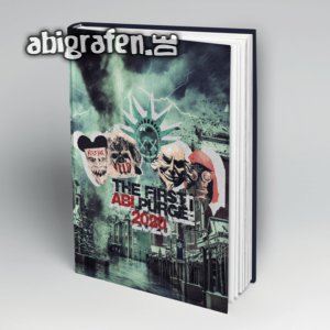 The First Abi Purge Abi Motto / Abibuch Cover Entwurf von abigrafen.de®