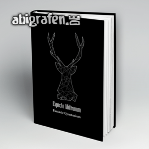 hABI Potter Abi Motto / Abibuch Cover Entwurf von abigrafen.de®