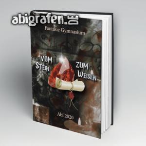Abi Dumbledore Abi Motto / Abibuch Cover Entwurf von abigrafen.de®