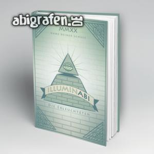 IlluminABI Abi Motto / Abibuch Cover Entwurf von abigrafen.de®