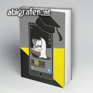 Snabichat Abi Motto / Abibuch Cover Entwurf von abigrafen.de®