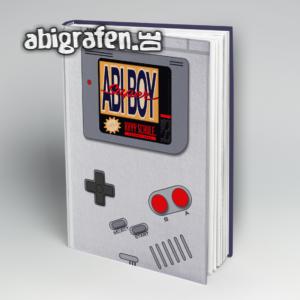 Super Abi Boy Abi Motto / Abibuch Cover Entwurf von abigrafen.de®