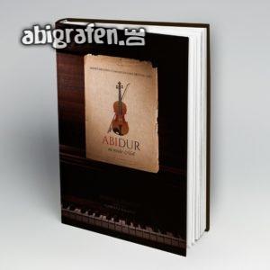 Abidur Abi Motto / Abibuch Cover Entwurf von abigrafen.de®
