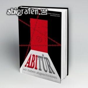 ABItür Abi Motto / Abibuch Cover Entwurf von abigrafen.de®
