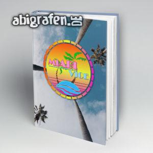 MiABI Vice Abi Motto / Abibuch Cover Entwurf von abigrafen.de®