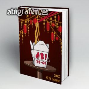 Abi To Go Abi Motto / Abibuch Cover Entwurf von abigrafen.de®