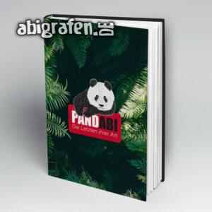 PandABI Abi Motto / Abibuch Cover Entwurf von abigrafen.de®