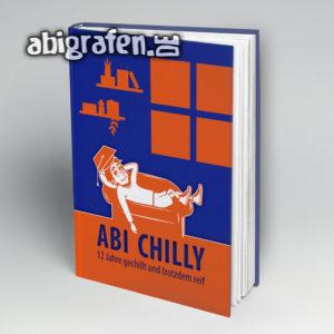 Abi Chilly Abi Motto / Abibuch Cover Entwurf von abigrafen.de®