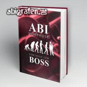 ABImorphose Abi Motto / Abibuch Cover Entwurf von abigrafen.de®