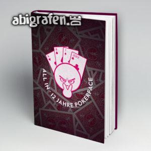 All in Abi Motto / Abibuch Cover Entwurf von abigrafen.de®