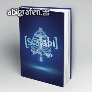 [scrabi] Abi Motto / Abibuch Cover Entwurf von abigrafen.de®