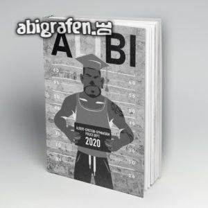 AliBI Abi Motto / Abibuch Cover Entwurf von abigrafen.de®