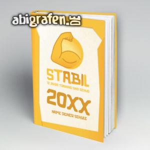 stABIl Abi Motto / Abibuch Cover Entwurf von abigrafen.de®