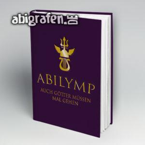 ABIlymp MMXIX Abi Motto / Abibuch Cover Entwurf von abigrafen.de®