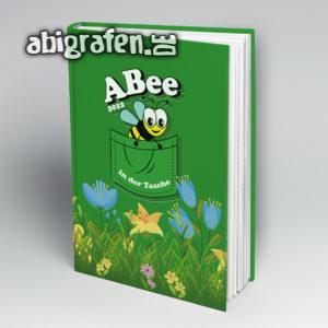 ABee Abi Motto / Abibuch Cover Entwurf von abigrafen.de®