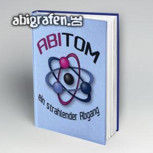 ABItom Abi Motto / Abibuch Cover Entwurf von abigrafen.de®