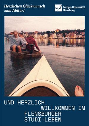 Werbeanzeige Abizeitung/Abibuch (Sponsor Uni Flensburg)