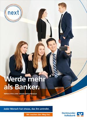 Werbeanzeige Abizeitung/Abibuch (Sponsor Volksbank)