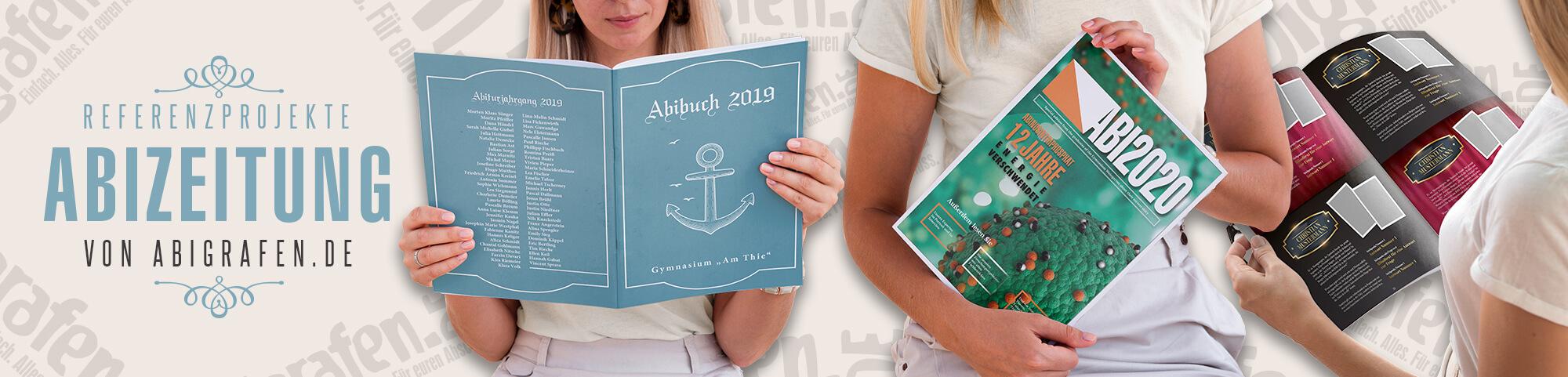 Abizeitung Layout: Unsere Beispielprojekte für verschiedene Abschlussklassen (Musterseiten Abibuch, Beispiele für komplette Gestaltung, Inspirationsquellen)
