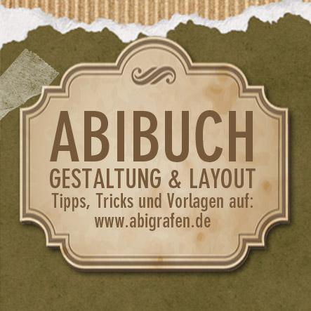 Abibuch Gestaltung und Layout