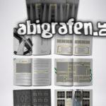 Gestaltungsoptionen für Abizeitungen