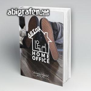 ABIns Home Office Abi Motto als Abibuch designen