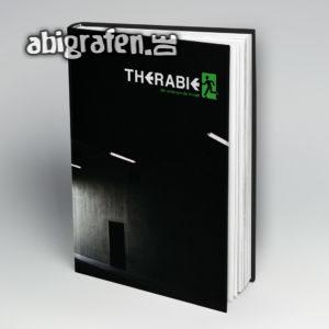 Therabie Abi Motto / Abibuch Cover Entwurf von abigrafen.de®