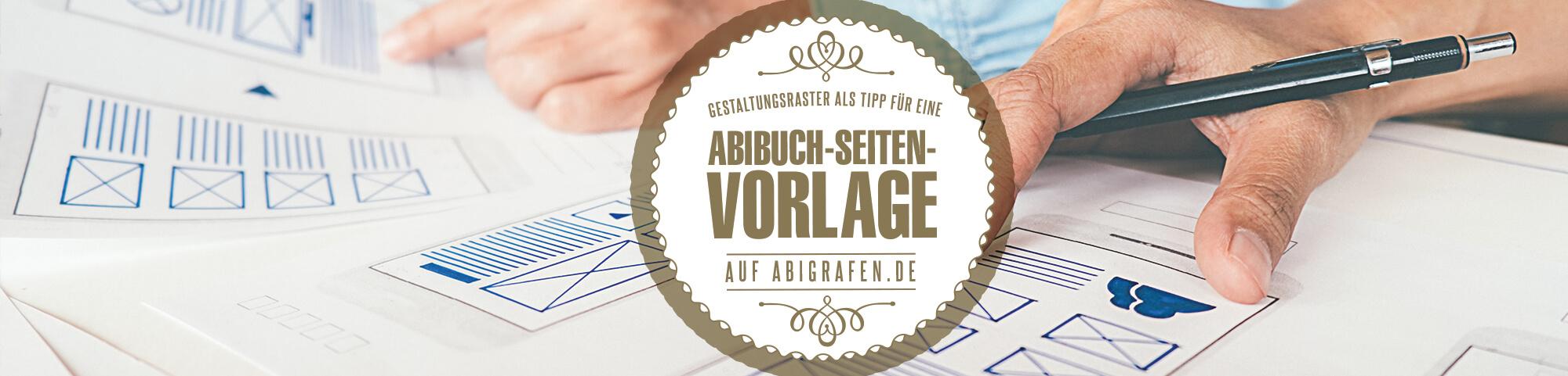 Abizeitung-/Abibuchseite Vorlage: Mit Gestaltungsraster einfach Gestalten (Tipps & Erklärungen)
