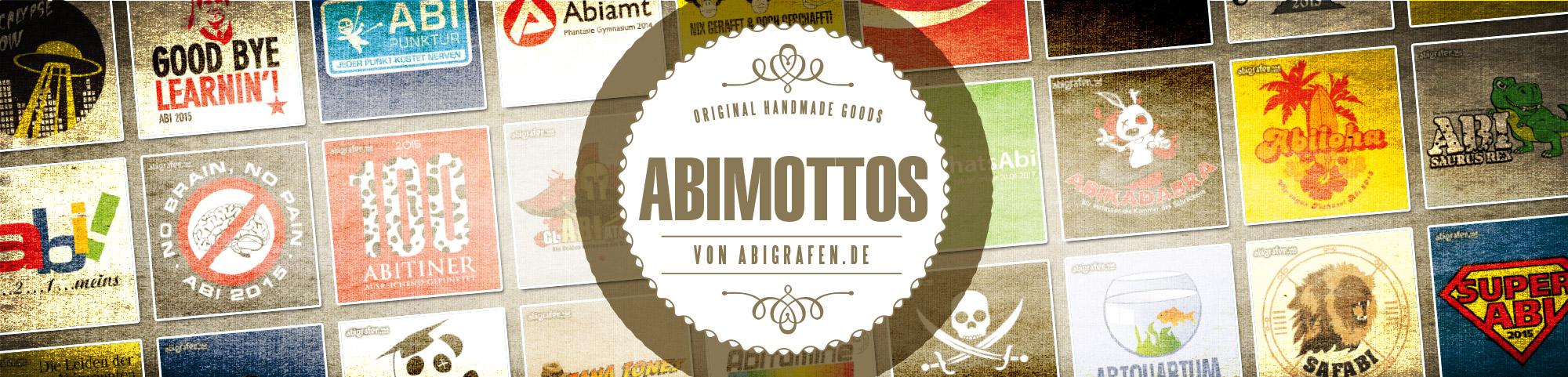 Übersicht Abi Mottos von abigrafen.de